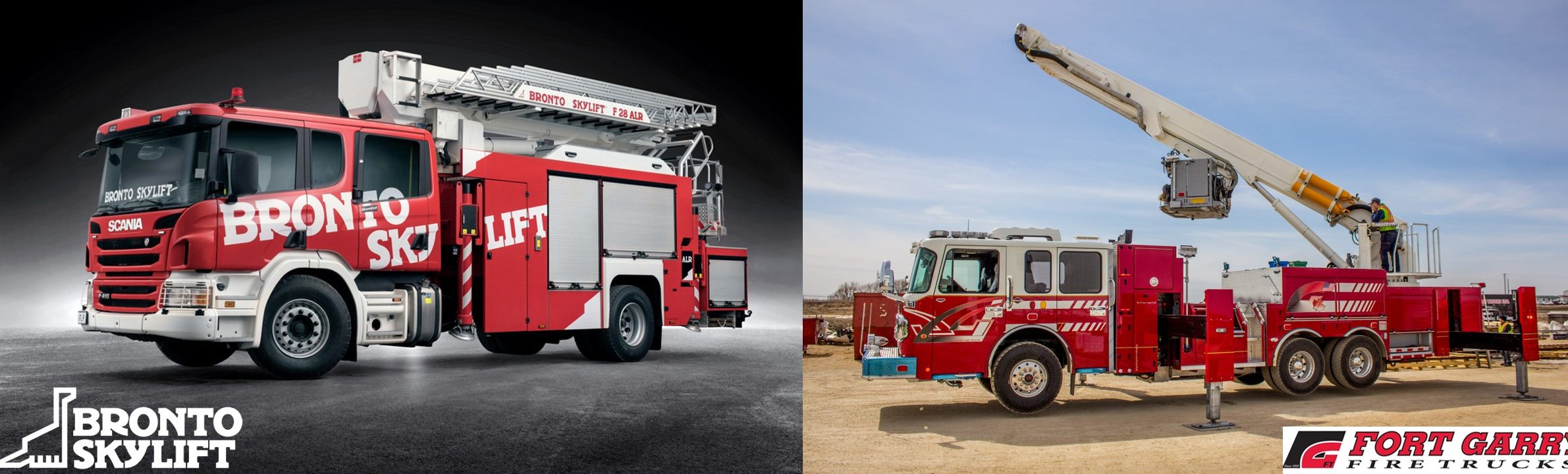 Bronto Skylift - Fort Garry Fire Trucks
